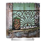 Au Balcon Shower Curtain