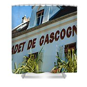 Au Cadet De Gascogne Shower Curtain