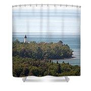Au Sable Lighthouse Shower Curtain