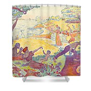 Au Temps Dharmonie Shower Curtain