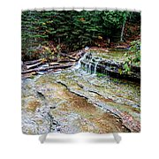 Au Train Falls II Shower Curtain