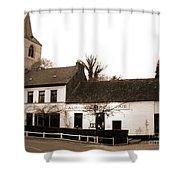 Auberge De La Roseraie Shower Curtain