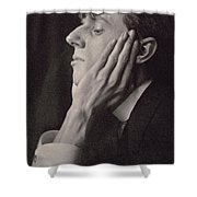 Aubrey Beardsley Shower Curtain