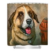 Aubrey Shower Curtain by Sean ODaniels