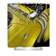 Auburn Roadster Shower Curtain