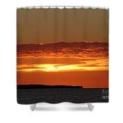 Auburn Sky Shower Curtain