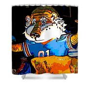 Auburn Tiger Shower Curtain