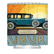 Auburn Shower Curtain