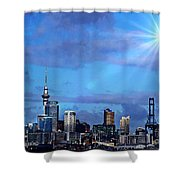 Auckland Shower Curtain