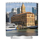 Auckland Ferry Terminal Shower Curtain
