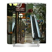 Auckland Shopping Mall Shower Curtain