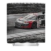 Audacious Audi R8 Shower Curtain