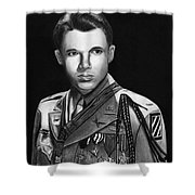 Audie Murphy Shower Curtain