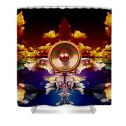 Audio Reflect 1 Shower Curtain