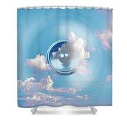 Audio Sky 1 Shower Curtain