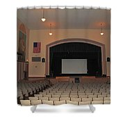 Auditorium In Clare Michigan Shower Curtain