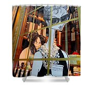 Audrey And Whoopie Shower Curtain