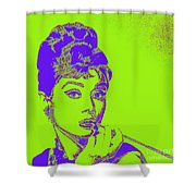 Audrey Hepburn 20130330v2p38 Square Shower Curtain