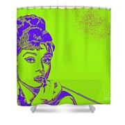 Audrey Hepburn 20130330v2p38 Shower Curtain