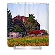 August Afternoon Shower Curtain