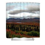 August In Alaska Shower Curtain
