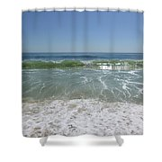 August Ocean Shower Curtain