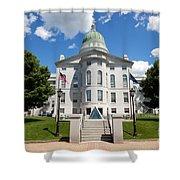 Augusta Capitol Building Shower Curtain