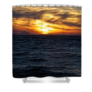 Augustine Sleeps Shower Curtain