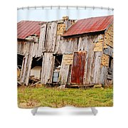 Aunt Olive's House Shower Curtain
