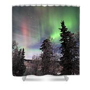 Aurora 2015 Shower Curtain