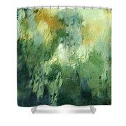 Aurora Borealis Abstract Shower Curtain