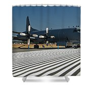 Lockheed Cp-140 Aurora Shower Curtain