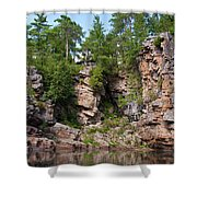 Ausable Chasm 1608 Shower Curtain