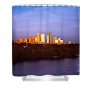 Austin At Last Light Shower Curtain