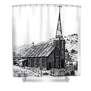 Austin Church Shower Curtain