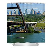 Austin From The 360 Bridge Shower Curtain