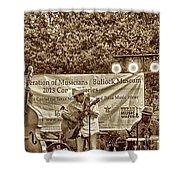 Austin Musicians At Bob Bullock Shower Curtain