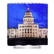Austin State Capitol Building, Texas - Shower Curtain