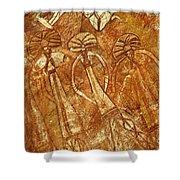 Australia Ancient Aboriginal Art 3 Shower Curtain
