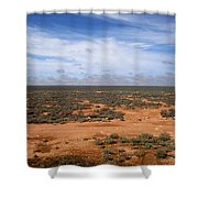 Australia Null Harbor Plain Shower Curtain
