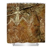 Indigenous Aboriginal Art 3 Shower Curtain