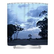 Australian Countryside Shower Curtain