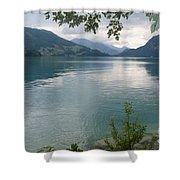 Austrian Lake Shower Curtain