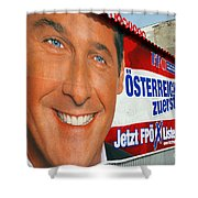 Austrian Politics Shower Curtain