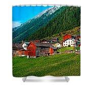 Austrian Village Shower Curtain