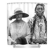 Author Mary Roberts Rhinehart Shower Curtain