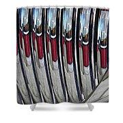 Auto Grill 4 Shower Curtain by Sarah Loft
