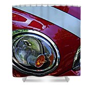 Auto Headlight 168 Shower Curtain