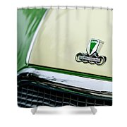 Auto Union Dkw Hood Emblem Shower Curtain