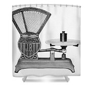 Automatic Computing Scale Shower Curtain